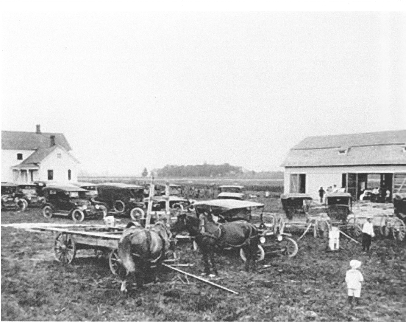 Station in 1912